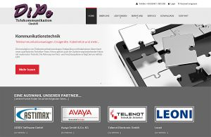 Internetauftritt DiPo-Telekommunikation GmbH