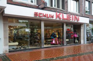 Das Geschäft von Schuh Klein