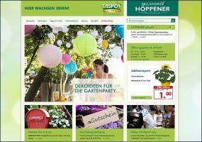 Internetauftritt Gartencenter Höppener