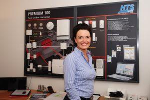 Susanne Theek von HTS line HIGH-TECH Security GmbH