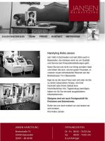 Die Website von Hairstyling Jansen