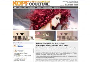 Die Website von Kopf Coulture