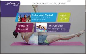 Die Website von movements Baesweiler