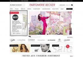Die Website von Schwanen Parfümerien